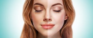 Self-Tanner/Bronzer - Split-Face - How-To Apply Self-Tanner by CSF - Post Image